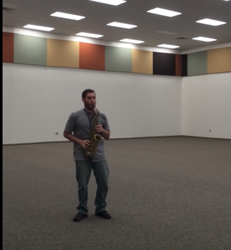 The First Time Music was Played in the Band Room
