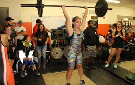 First Girls Weightlifting Meet