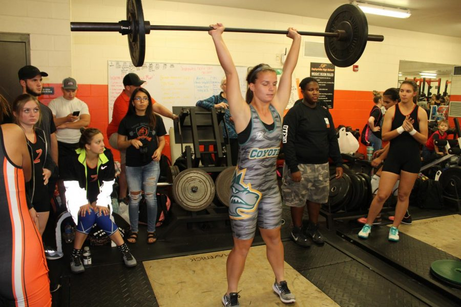 First Girls Weightlifting Meet Howler