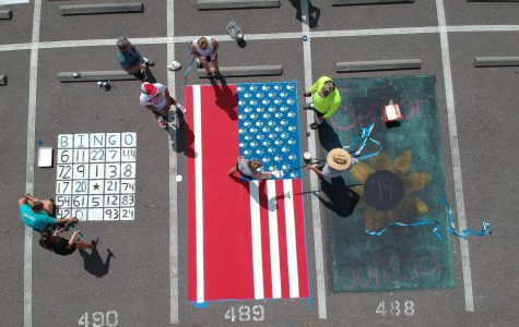 Natty Northey captures the parking spots from above.